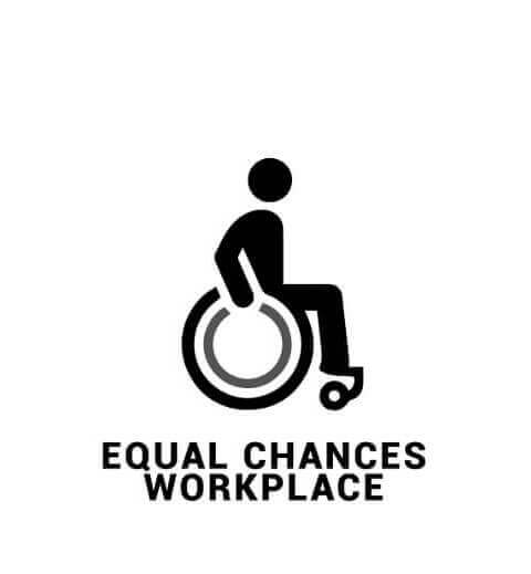 Equal chances workplace
