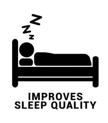 Improves sleep quality