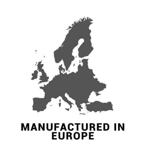 Manufactured in Europe