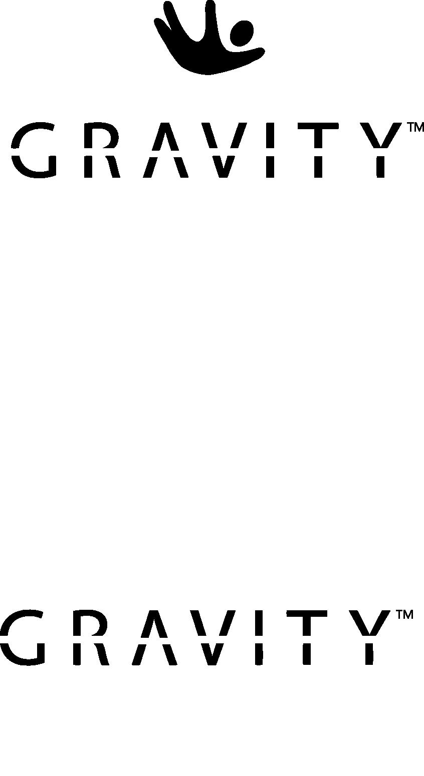 Gravity Blanket logo with shape