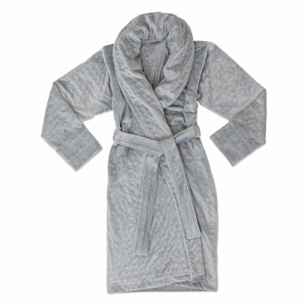 Weighted Robe Grey